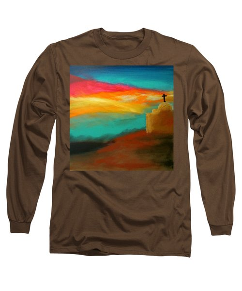 Turquoise Trail Sunset Long Sleeve T-Shirt