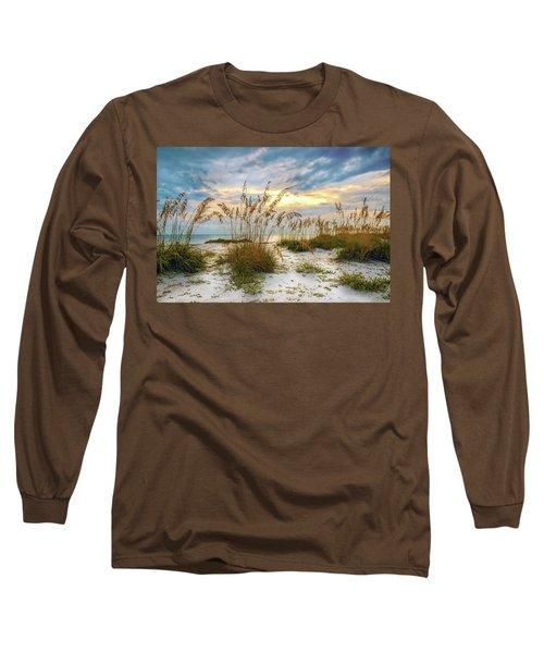 Twilight Sea Oats Long Sleeve T-Shirt