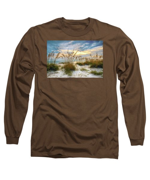 Twilight Sea Oats Long Sleeve T-Shirt