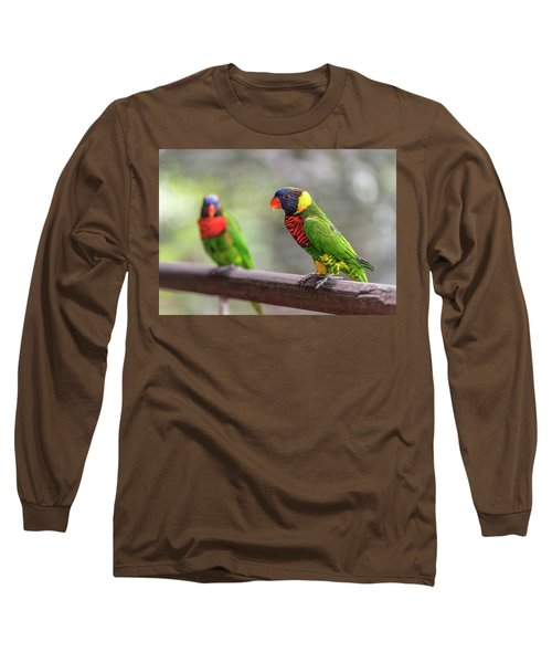Two Parrots Long Sleeve T-Shirt