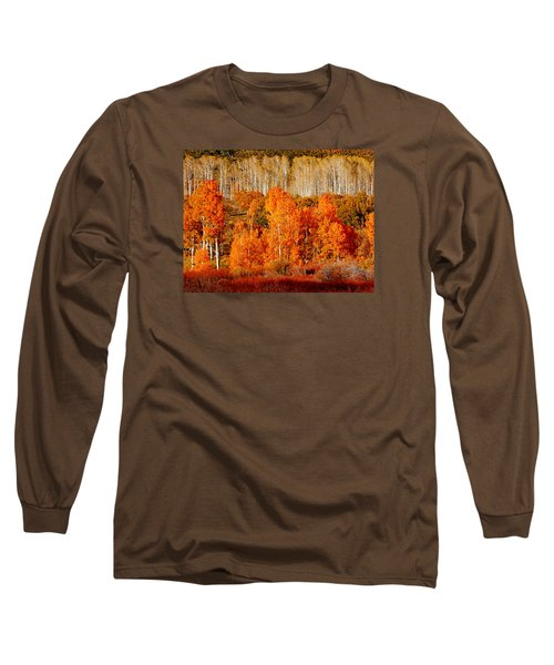 Two Rows Of Aspen Long Sleeve T-Shirt