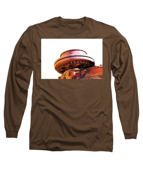 Ufo Landing At Joshua Trees Long Sleeve T-Shirt