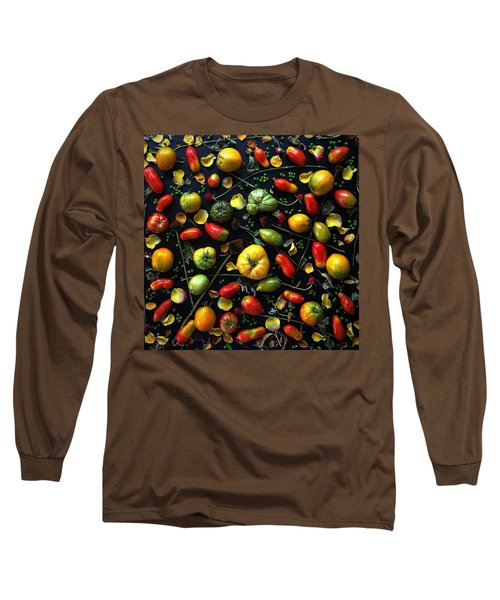 Heirloom Tomato Patterns Long Sleeve T-Shirt