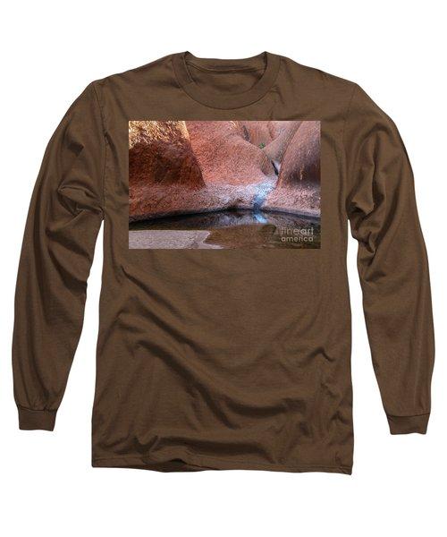 Long Sleeve T-Shirt featuring the photograph Uluru 03 by Werner Padarin