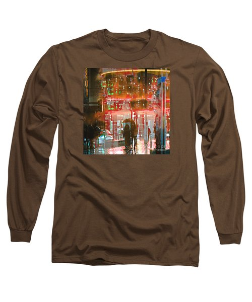 Umbrellas Are For Sharing Long Sleeve T-Shirt by LemonArt Photography