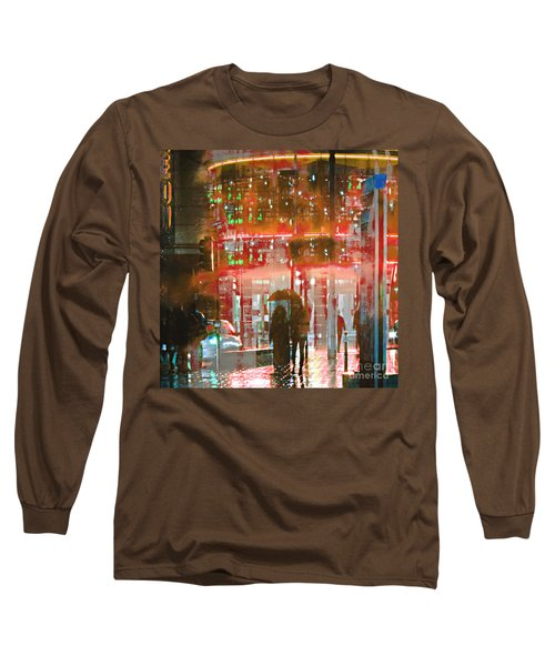 Umbrellas Are For Sharing Long Sleeve T-Shirt