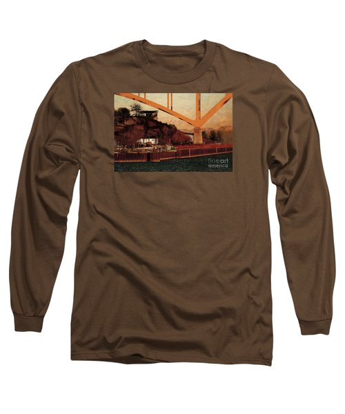 Long Sleeve T-Shirt featuring the digital art Under The Hoan by David Blank