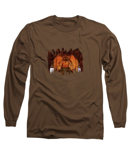 Long Sleeve T-Shirt featuring the photograph Under The Siuslaw River Bridge by Thom Zehrfeld
