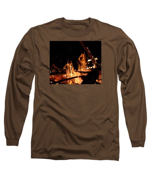 Under The Sparks Long Sleeve T-Shirt by Janet Rockburn