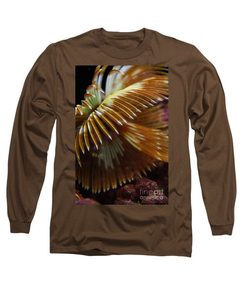 Underwater Feathers Long Sleeve T-Shirt