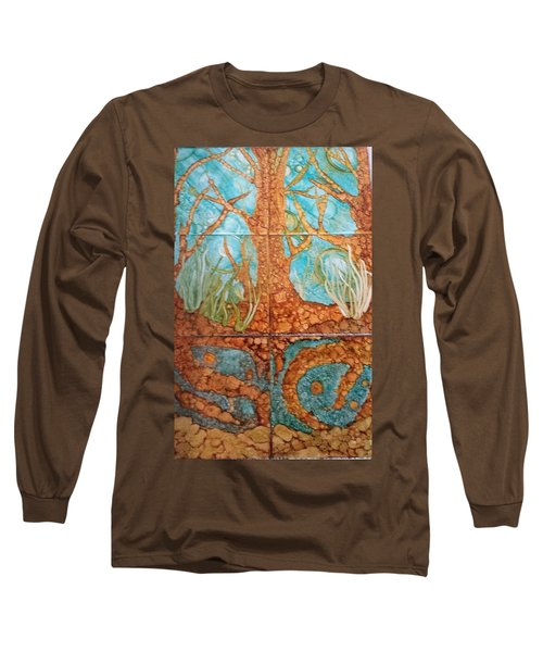 Underwater Trees Long Sleeve T-Shirt