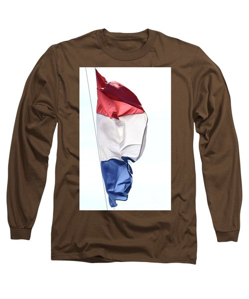 Long Sleeve T-Shirt featuring the photograph Unfurl 01 by Stephen Mitchell
