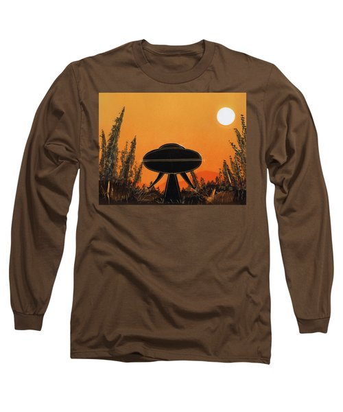 Unidentified Flying Object Landing Long Sleeve T-Shirt