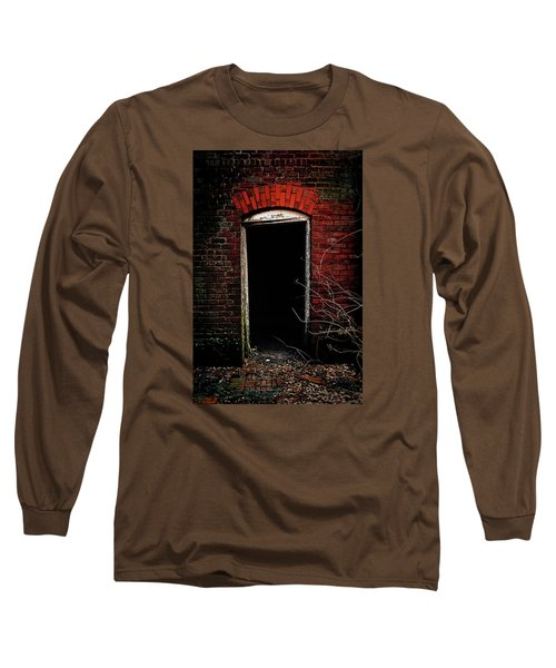 Long Sleeve T-Shirt featuring the photograph Unknowing by Jessica Brawley