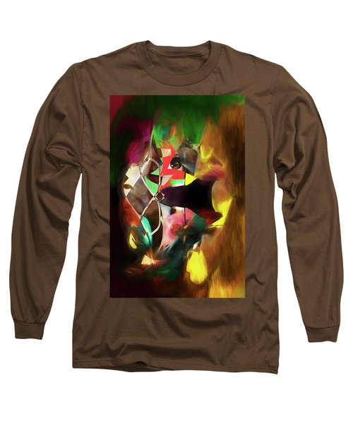 Untitled Work No. 3 Long Sleeve T-Shirt by James Bethanis