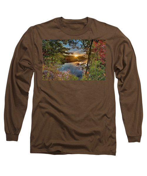 Up Early For The Start Of Fall Color... Long Sleeve T-Shirt