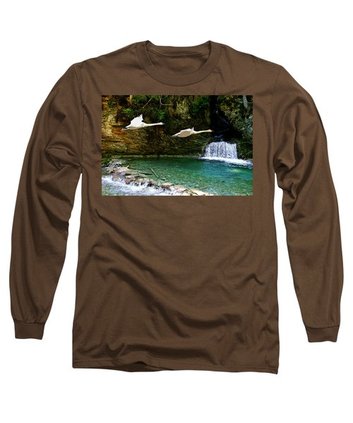 Upper Margaret Falls Long Sleeve T-Shirt