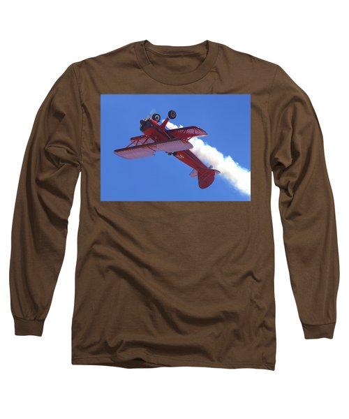 Upside-down Vicky Benzing Long Sleeve T-Shirt
