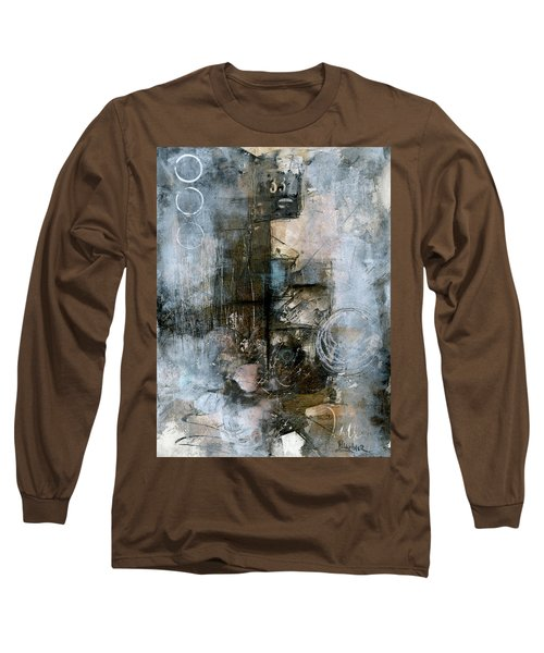 Urban Abstract Cool Tones Long Sleeve T-Shirt