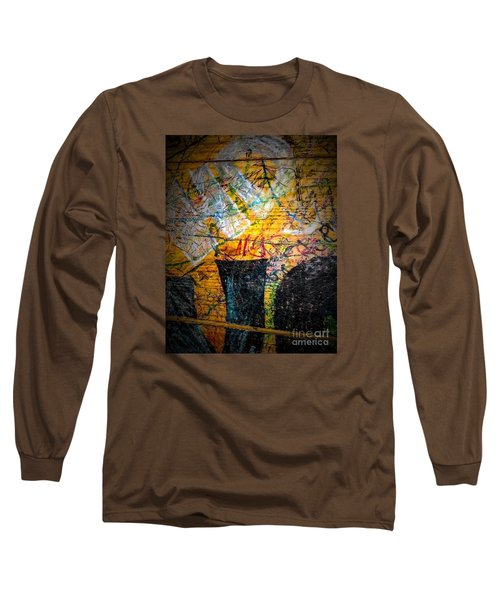 Urban Grunge Three Long Sleeve T-Shirt by Ken Frischkorn