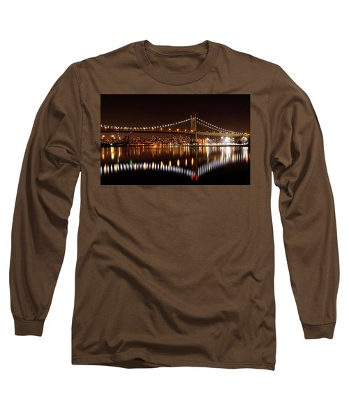 Urban Night Reflection Long Sleeve T-Shirt