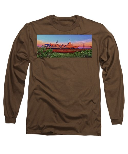 Uss York Town Long Sleeve T-Shirt