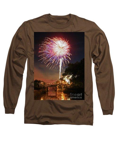 Utica Fireworks Long Sleeve T-Shirt