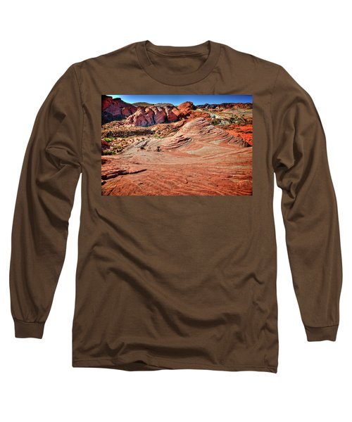 Valley Of Fire State Park Nevada Long Sleeve T-Shirt by James Hammond