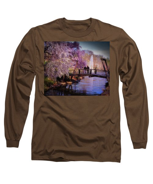Van Gogh Bridge - Reston, Virginia Long Sleeve T-Shirt