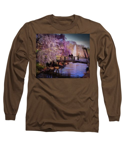 Van Gogh Bridge - Reston, Virginia Long Sleeve T-Shirt