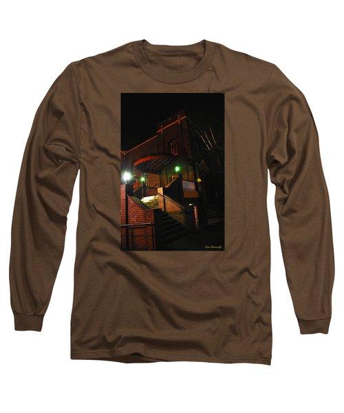 Vancouver Arts Building Long Sleeve T-Shirt by Steve Warnstaff