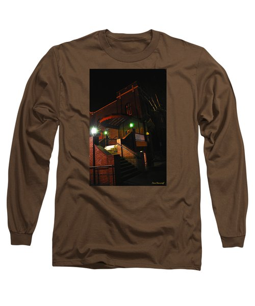 Vancouver Arts Building Long Sleeve T-Shirt