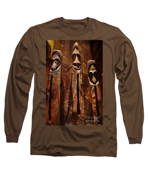 Long Sleeve T-Shirt featuring the photograph Vanuatu Trio by Craig Wood