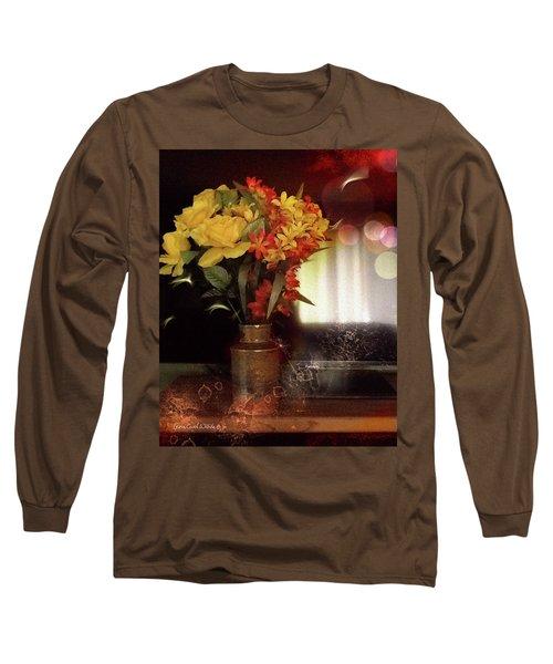 Vase Of Flowers Long Sleeve T-Shirt