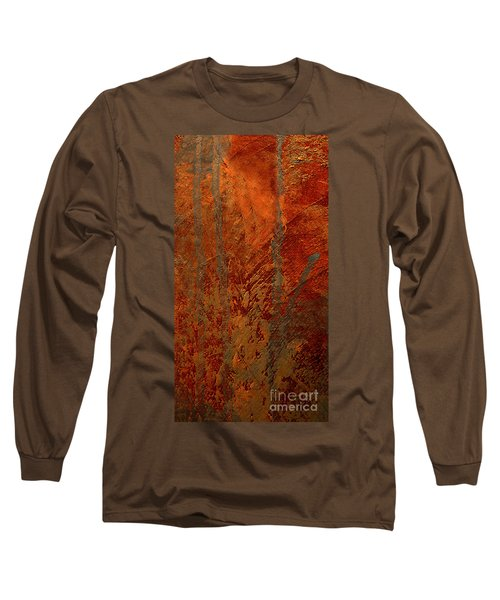Long Sleeve T-Shirt featuring the mixed media Venice by Michael Rock