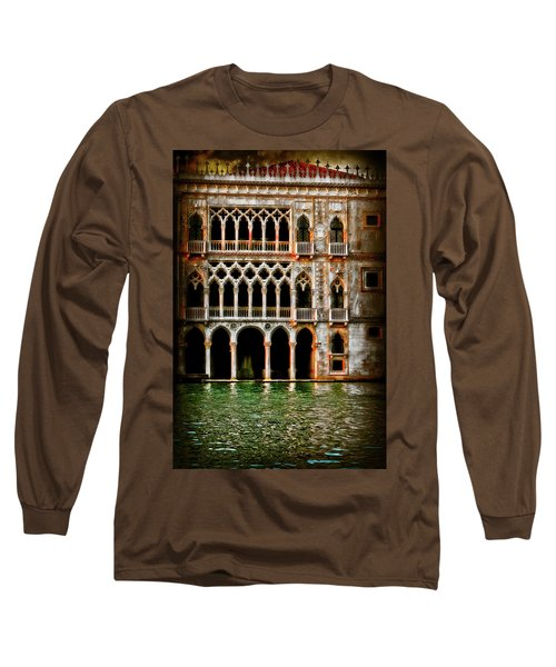 Long Sleeve T-Shirt featuring the photograph Venice Palace  by Harry Spitz