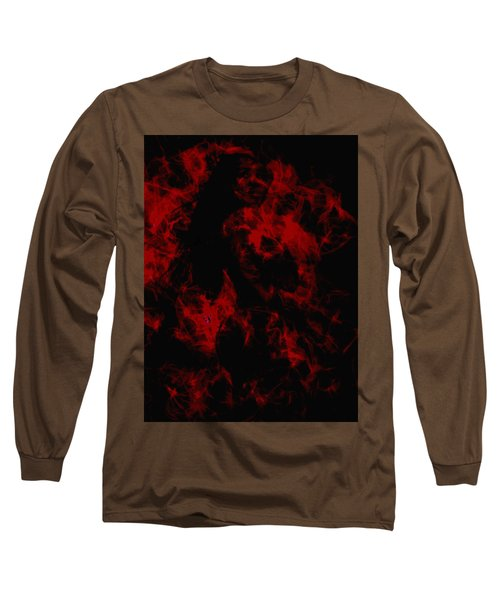 Venus Williams On Fire Long Sleeve T-Shirt by Brian Reaves