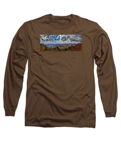 Vermont Autumn From Mt. Ascutney Long Sleeve T-Shirt