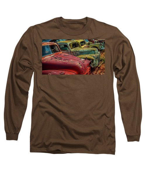 Very Late Models Long Sleeve T-Shirt by Jeffrey Jensen