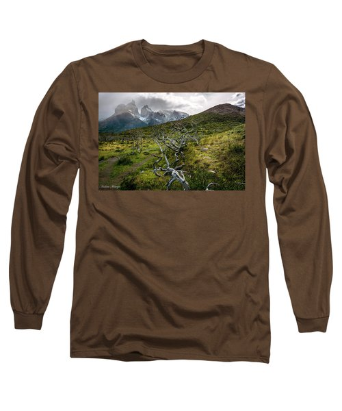 Vibrant Desolation Long Sleeve T-Shirt