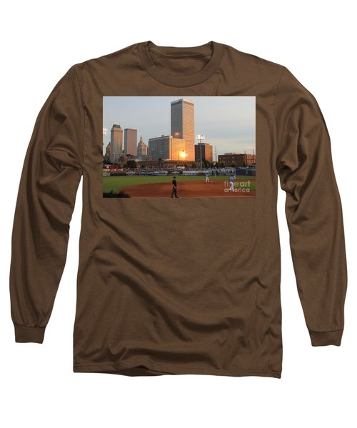 View From 3rd Base Long Sleeve T-Shirt