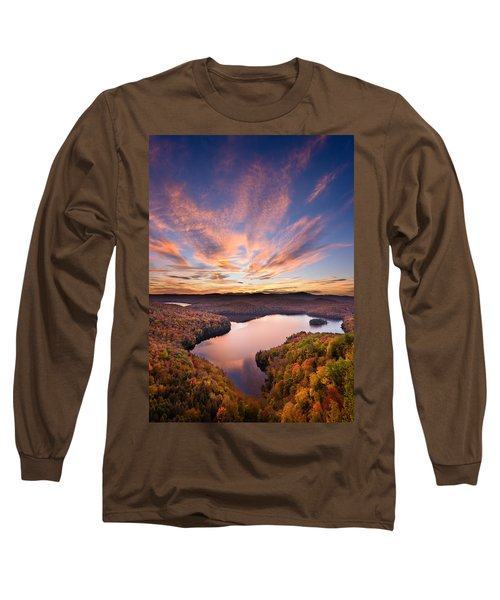 View From The Ledge Long Sleeve T-Shirt