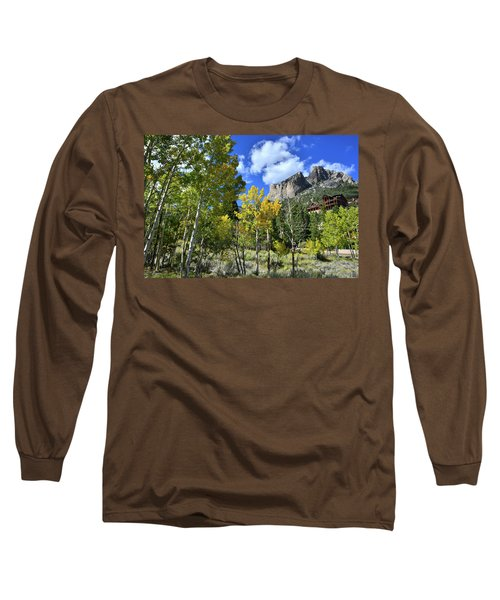 Village Beneath Mt. Charleston Long Sleeve T-Shirt