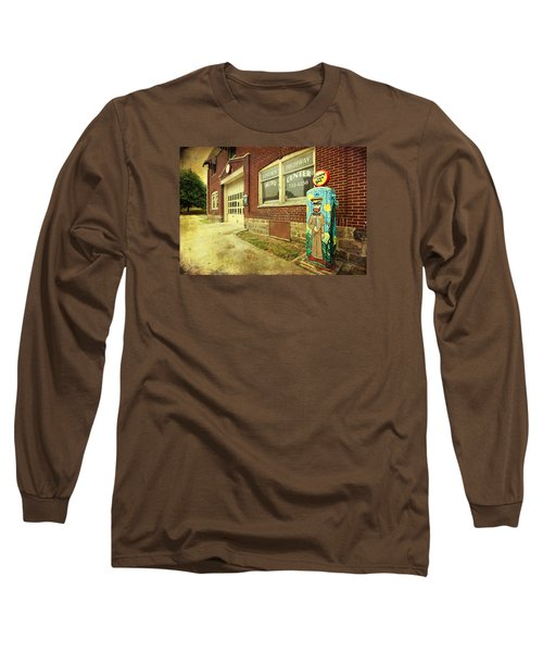 Long Sleeve T-Shirt featuring the photograph Vincent Van Gas by Trina Ansel