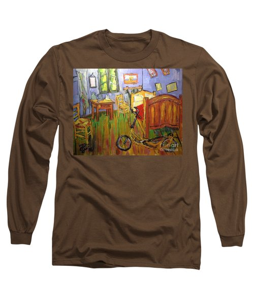Vincent Van Go's Bedroom Long Sleeve T-Shirt