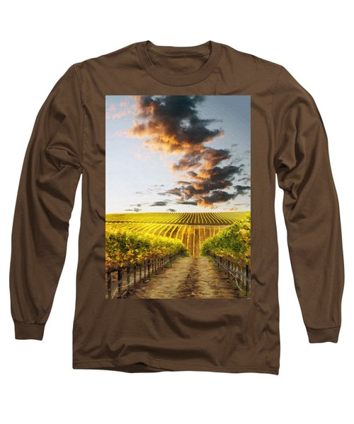 Vineard Aglow Long Sleeve T-Shirt