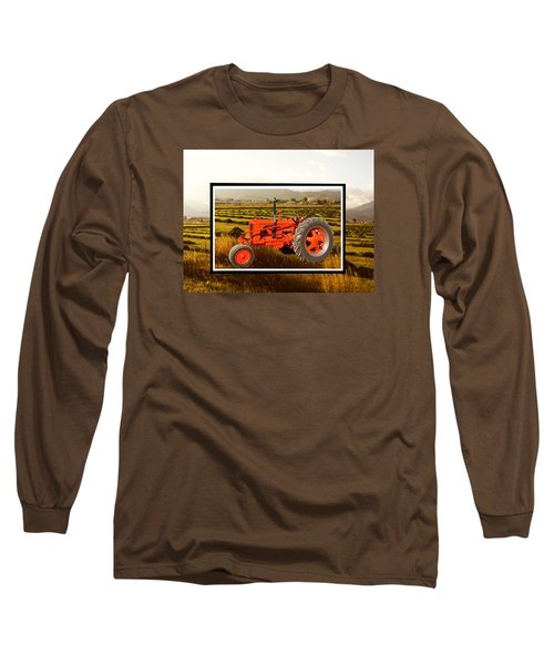 Vintage 1948 Case Dc Tractor Long Sleeve T-Shirt