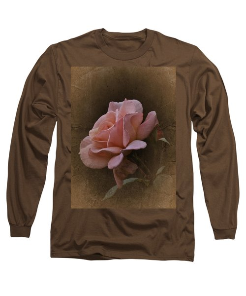 Vintage August Rose Long Sleeve T-Shirt