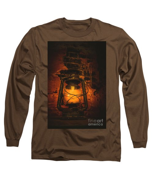 Vintage Colonial Lantern Long Sleeve T-Shirt