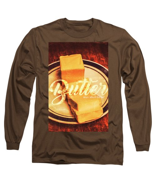 Vintage Dairy Product Advertisement Long Sleeve T-Shirt